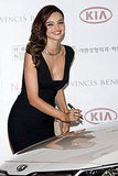 Miranda Kerr Spends Her First Night Away From Flynn to Do Press in South Korea