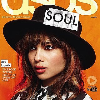 Zoe Kravtiz Models in ASOS July Magazine 2011-06-01 12:36:00