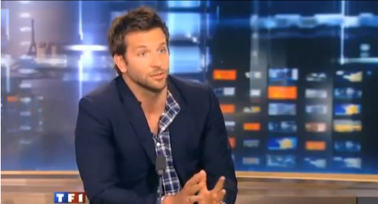 Oh La La! Bradley Cooper Proves It's Hot When Guys Speak a Foreign Language