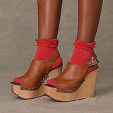 Slingback Wood Platform, Free People, $138