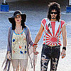 Pictures of Katy Perry on Set With Russell Brand