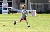 Kate Hudson and Matthew Bellamy Check Out Ryder's Soccer Skills in Pregnancy Home Stretch