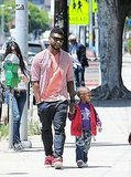 Usher and His Son Cinco Hold Hands as He Caps Off His World Tour