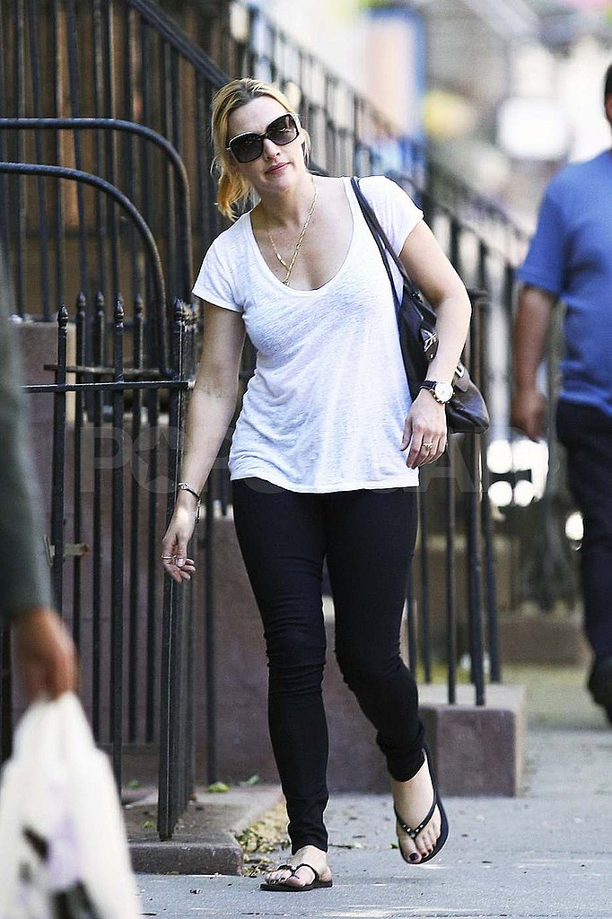 Kate Winslet Walks the Streets of NYC Without Her Maybe Rekindled Flame