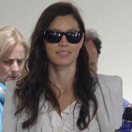 Jessica Biel Gears Up For Total Recall and Gets Love From Justin