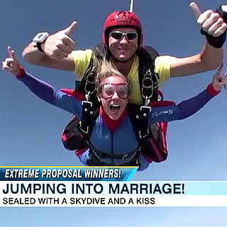 Skydiving Marriage Proposal