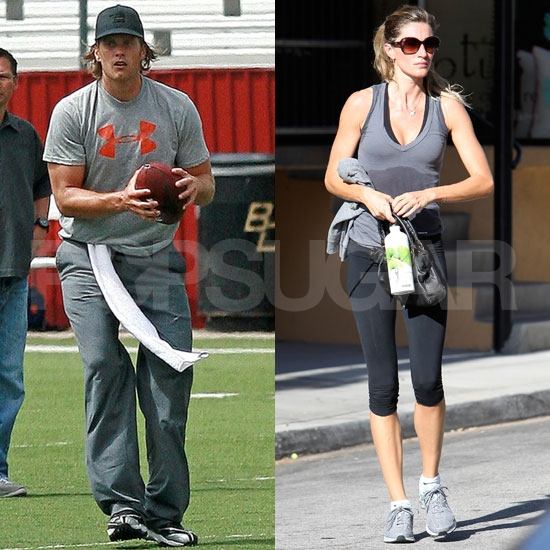 Gisele Bundchen Pictures Working Out in LA