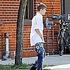 Justin Bieber and Selena Gomez Vacationing in Canada Pictures