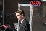 Robert Pattinson Hangs With Bear Then Suits Up For Another Day in Cosmopolis