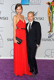 Karlie Kloss in Jason Wu, with the designer