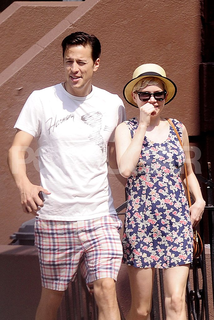 Michelle Williams Gets Close With New Guy, Director Cary Fukunaga!