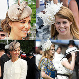 Kate Middleton and Princess Beatrice in Hats
