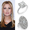 Ivanka Trump's Green Bridal Jewelry