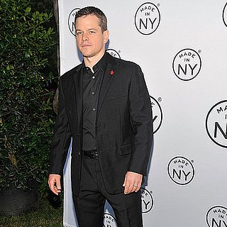 Matt Damon Pictures at the Matt in NYC Awards