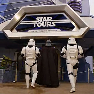 New Star Tours at Disneyland