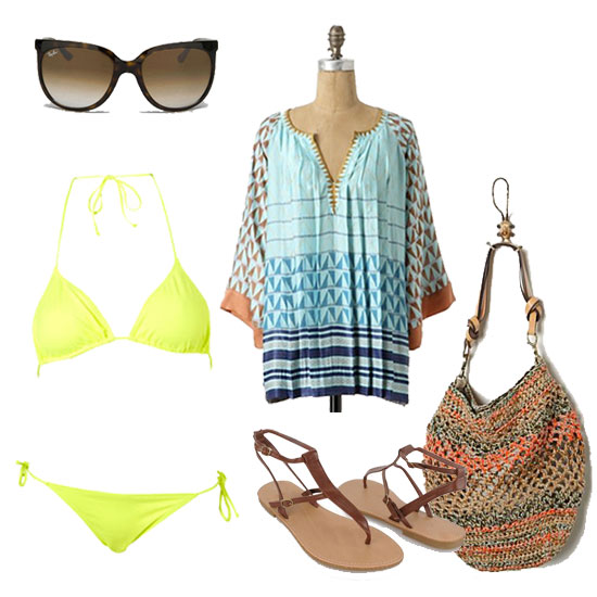 How to Wear a Tunic: Beach