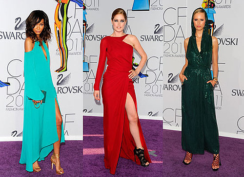 Pictures of Models Miranda Kerr, Alessandra Ambrosio, Karolina Kurkova, Doutzen Kroes at the 2011 CFDA Fashion Awards