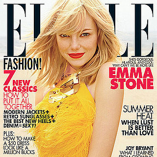 Pictures of Emma Stone on the July Cover of Elle Magazine