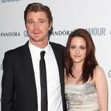 Video: Kristen Stewart at the Glamour Women of the Year Awards With Garrett Hedlund