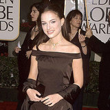Natalie Portman looked glamorous at the 2000 Golden Globe Awards.