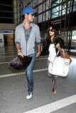 Eva Longoria and Eduardo Cruz Share the Look of Love on Their Way Out of Town