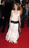 Natalie Portman in a Retro Dress at the 2005 Golden Globes