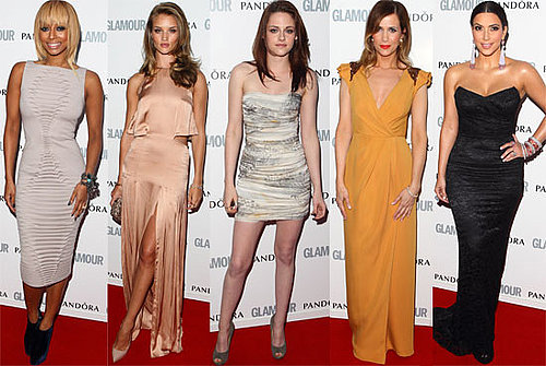 Best Dressed Celebrity Style at the 2011 Glamour Women of the Year Awards; Kristen Stewart, Kim Kardashian and more!