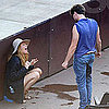 Blake Lively and Leonardo DiCaprio Pictures in Verona