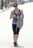Ashley Greene Gets Ready For Her Weekend With an Intense Workout