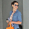 Katie Holmes Pictures Getting Lunch in LA