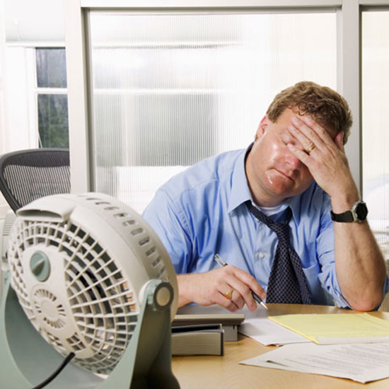 5 Ways to Keep Cool at Work