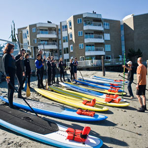 Stand-Up Paddleboarding Lessons in Seattle