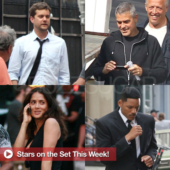 George Clooney, Joshua Jackson, and More Stars on Set This Week!