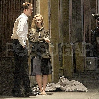 Robert Pattinson Pictures Shooting Cosmopolis