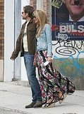 David Duchovny and Natascha McElhone Get Cozy to Film Californication