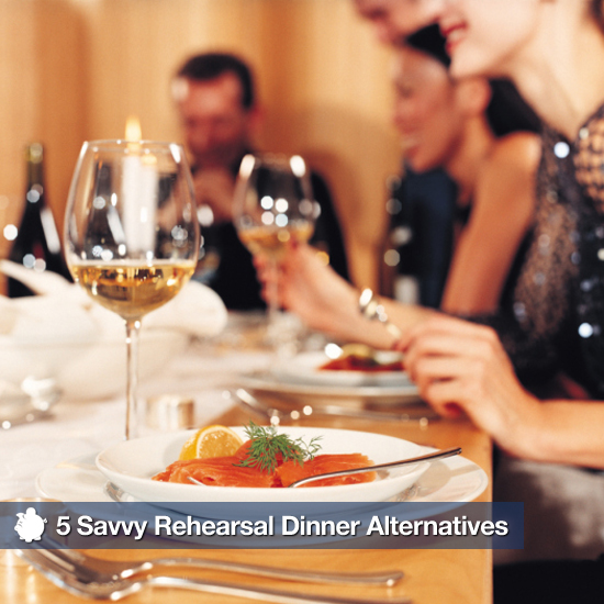 5 Savvy Rehearsal Dinner Alternatives