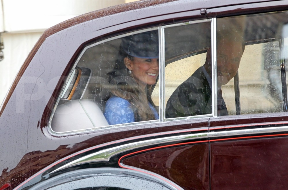 Kate Middleton Goes Blue Alongside Prince William For Philip's Royal Birthday Celebration