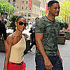 Will Smith and Jada Pinkett Smith Holding Hands in NYC
