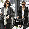 Miranda Kerr and Flynn Bloom Meeting Her Mom For Lunch