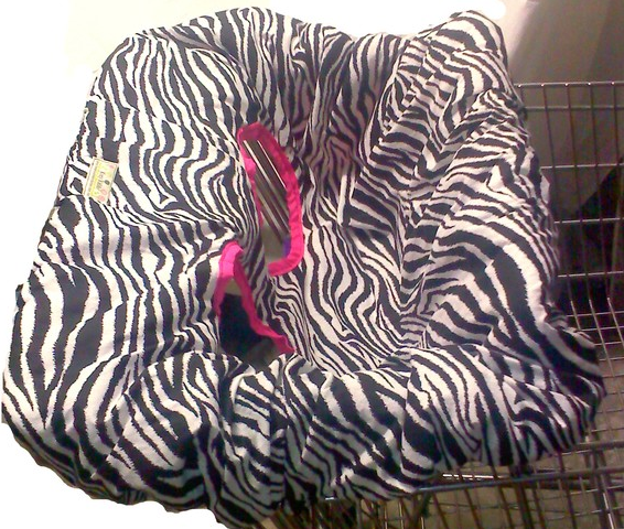 Zebra Cart Cover