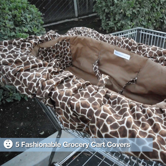 5 Fashionable Grocery Cart Covers For Tots