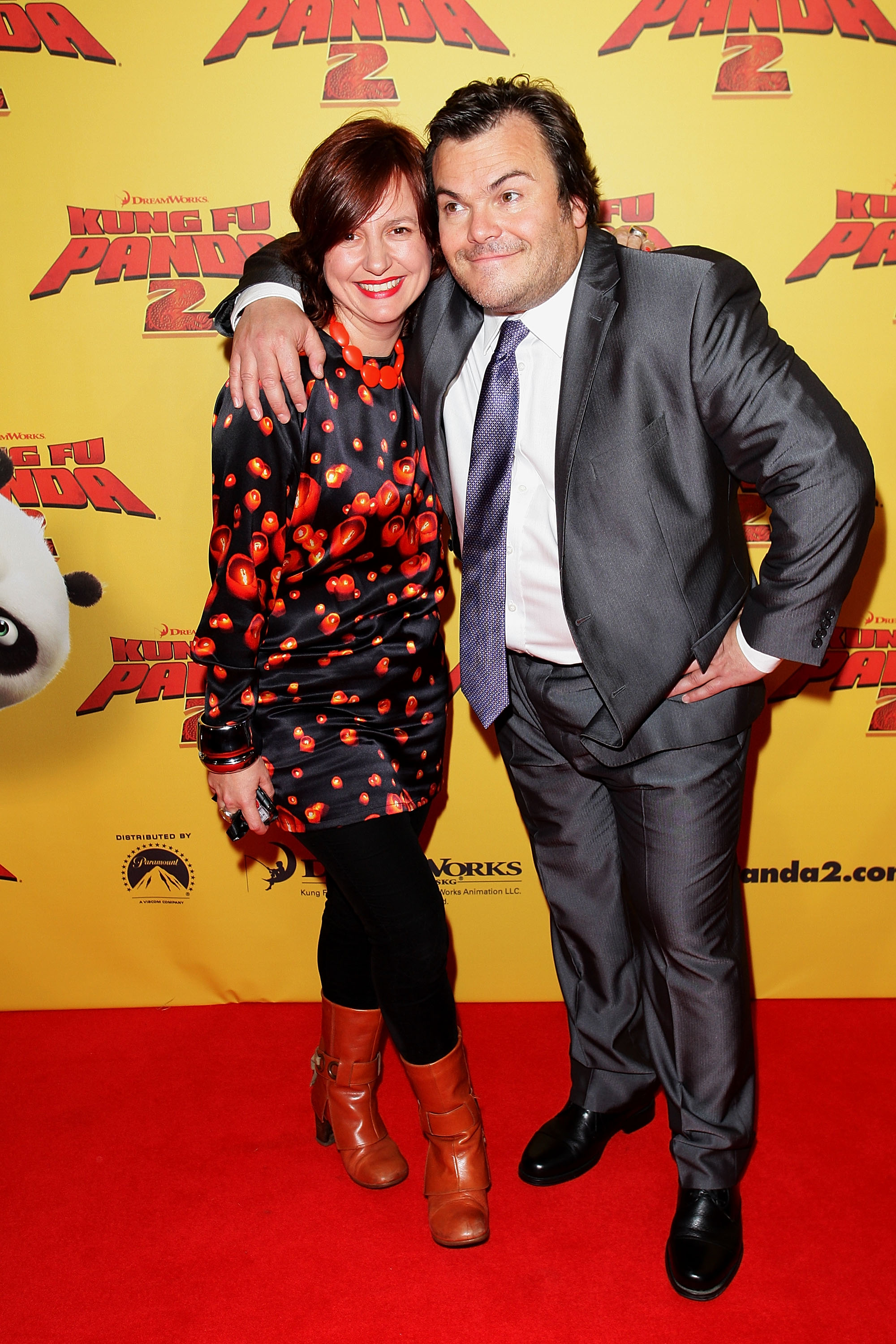 Claire Stewart and Jack Black