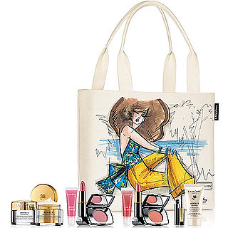 Chris Benz Designs a Bag for Lancôme and Saks Fifth Avenue