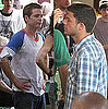 Pictures of Kevin Connolly Filming Entourage