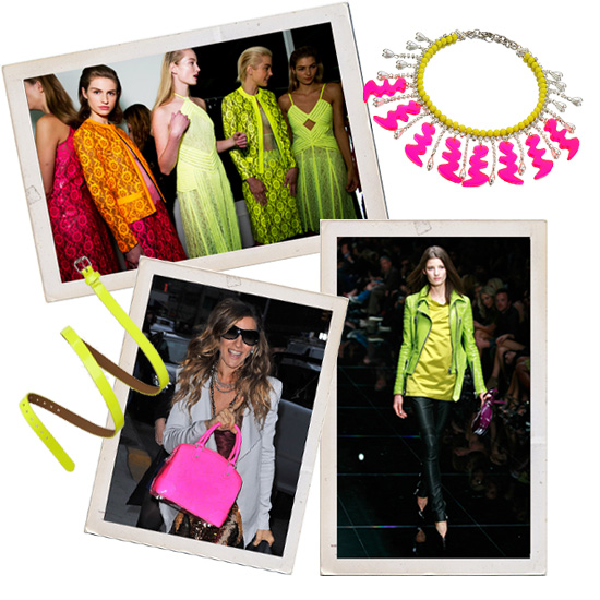 Pump Up Your Everyday Pieces With a Pop of Neon