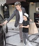 Ryan Phillippe Takes Deacon For a Guys-Only Outing