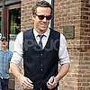 Ryan Reynolds Pictures on His Way to Live! With Regis and Kelly