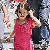Suri Cruise Pictures at Lunch With Katie Holmes