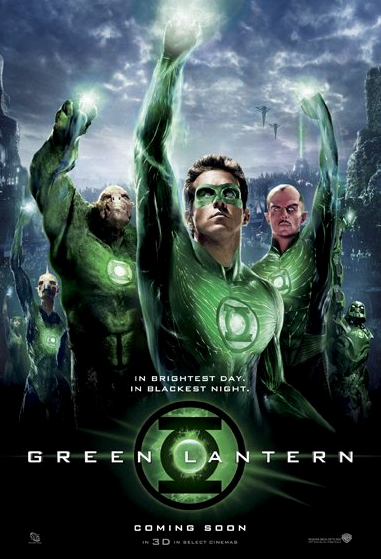 Green Lantern Movie Date