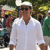 Matthew McConaughey's Stylish Levi and Vida Steal the Show at Disneyland